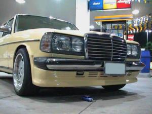 ลิ้นหน้า Benz W123 ทรง BBS