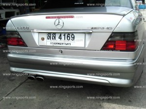 ชุดแต่งรอบคัน Benz W124 ทรง WALD แบบกันชนเต็ม
