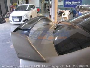 สปอยเลอร์ Honda Civic FD ทรง Mugen RR