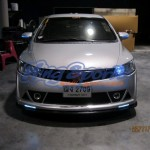 ชุดแต่งรถ Honda Civic FD ทรง Mugen RR แบบเปิดไฟโชว์ครบๆ