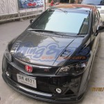 ชุดแต่งรถ Honda Civic FD ทรง Mugen RR ทำสีดำ