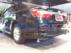 ชุดแต่งรอบคัน Toyota Camry 2012 ตัวธรรมดา ทรง V.1
