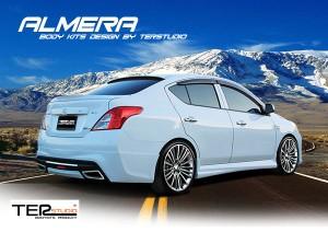ชุดแต่งรอบคัน Nissan Almera ทรง Ter