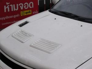 ฝากระโปรง Mitsubishi E-Car ทรง EVO3