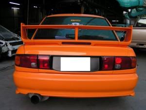 สปอยเลอร์ Mitsubishi E-Car ทรง EVO3
