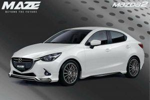 ชุดแต่งรอบคัน Mazda2 Skyactiv ทรง Maze