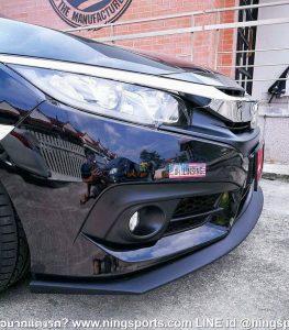 ลิ้นหน้าซิ่ง Honda Civic FC ทรง N Speed V.2