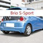 ชุดแต่งรถ Honda Brio S Sport