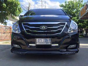 สเกิร์ตหน้า Hyundai H1 MC 2014 ทรง VIP DD