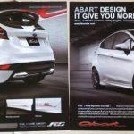 ชุดแต่งรอบคัน Ford Fiesta 5D ทรง Abarth