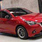 ชุดแต่งรอบคัน Mazda2 2015 Skyactiv 4D ทรง Spirit-R