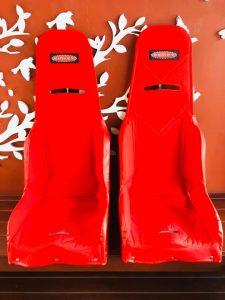 เบาะ Kirkey ผ้าแดง