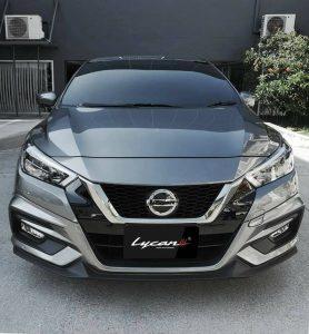 ชุดแต่งรอบคัน Nissan Almera 2020 ทรง Lycan