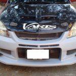 กันชนหน้า Mitsubishi New Lancer ทรง Varis