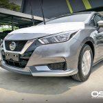 ชุดแต่งรอบคัน Nissan Almera 2020 ทรง SR Limited