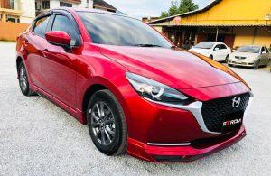 ชุดแต่งรอบคัน Mazda2 2020 ทรง Strom