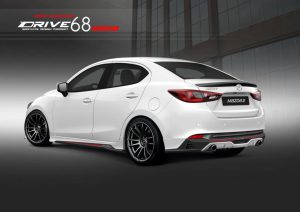 ชุดแต่งรอบคัน Mazda2 2020 ทรง Drive68