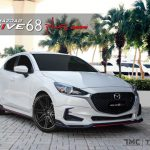 ชุดแต่งรอบคัน Mazda2 2020 ทรง Drive68 Plus