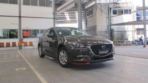 ชุดแต่งรอบคัน Mazda 3 2017 ทรง X-Theme