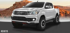 ชุดแต่งรอบคัน Toyota Hilux Revo ทรง Fortezza