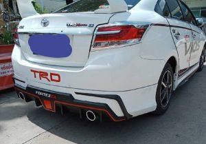 ชุดแต่งรอบคัน Toyota New Vios 2017 ทรง Fortezza