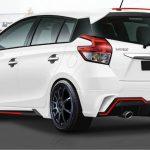 ชุดแต่งรอบคัน Toyota Yaris 2014 ทรง Fortezza