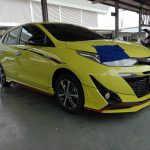 ชุดแต่งรอบคัน Toyota Yaris 2017 ทรง Fortezza