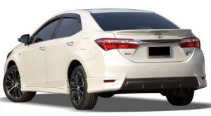 ชุดแต่งรอบคัน Toyota Altis 2016 ทรง E-SPORT
