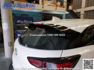 สปอยเลอร์ Mazda CX-3 2018 ทรง OEM