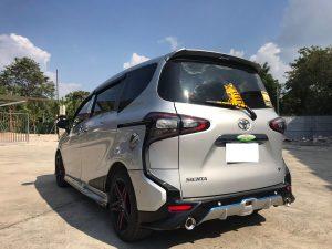 ชุดแต่งรอบคัน Toyota Sienta ทรง SMT