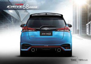 ชุดแต่งรอบคัน Toyota Yaris 2020 ทรง Drive68