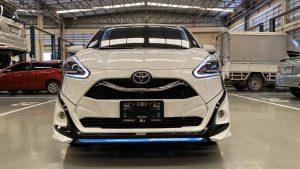 ชุดแต่งรอบคัน Toyota Sienta 2019 ทรง SMT
