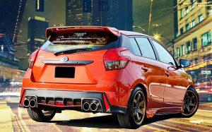 ชุดแต่งรอบคัน Toyota Yaris 2014 ทรง RS V.6