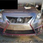 ชุดแต่งรอบคัน Nissan Almera ทรง K Aero