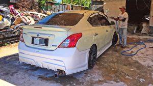 ชุดแต่งรอบคัน Nissan Almera 2014 ทรง GTR