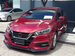ชุดแต่งรอบคัน Nissan Almera 2020 ทรง Amotriz V.1