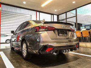 ชุดแต่งรอบคัน Nissan Almera 2020 ทรง LumGa