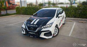 ชุดแต่งรอบคัน Nissan Almera 2020 ทรง Maximus GT