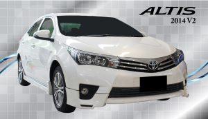 ชุดแต่งรอบคัน Toyota Altis 2014 ทรง BM V.2