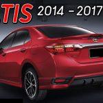 สปอยเลอร์ Toyota Altis 2014 ทรง Nurburgring