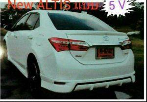 ชุดแต่งรอบคัน Toyota Altis 2014 ทรง JR2