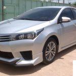 ชุดแต่งรอบคัน Toyota Altis 2014 ทรง Option