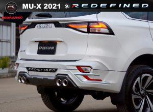 ชุดแต่งรอบคัน Isuzu Mu-x 2021 ทรง Redefined