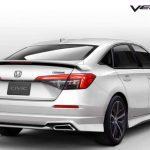 ชุดแต่งรอบคัน Honda Civic FE 2021 ทรง Verteq
