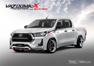 ชุดแต่งรอบคัน Toyota Revo 2020 Z Edition ทรง Vazooma-X