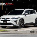 ชุดแต่งรอบคัน Toyota Corolla Cross ทรง Vazooma-X