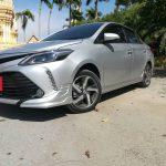 ชุดแต่งรอบคัน Toyota New Vios 2017 ทรง JR1