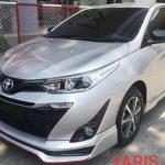 ชุดแต่งรอบคัน Toyota Yaris 2017 ทรง JR2